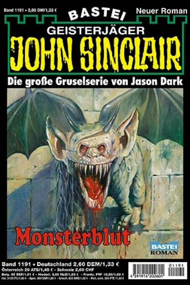 John Sinclair Nr. 1191: Monsterblut