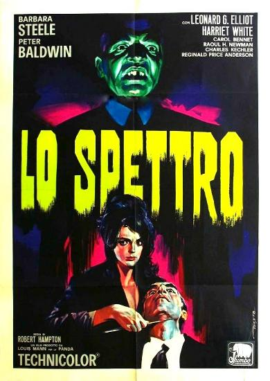 """The Ghost"" (italienisches Filmplakat)"