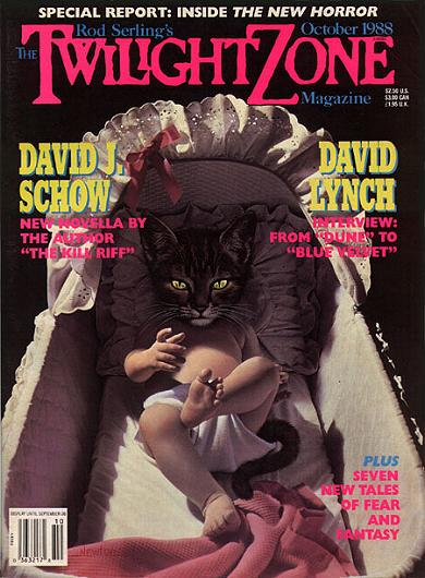 """THE TWILIGHT ZONE MAGAZINE"" (Oktober 1988)"